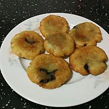 豆沙(芝麻)馅红薯糯米饼