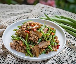 四季豆炒回锅肉(四季豆切片最好吃)的做法