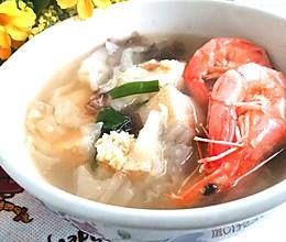 #夏日消暑,非它莫属#鲜虾白菜豆腐汤的做法
