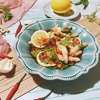 夏日轻食——柠檬凤爪