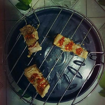 快手微波炉烤鱼