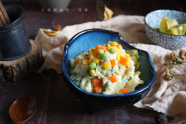简单又好吃的日式土豆泥沙拉,孩子喜欢,每周都吵着要吃的做法