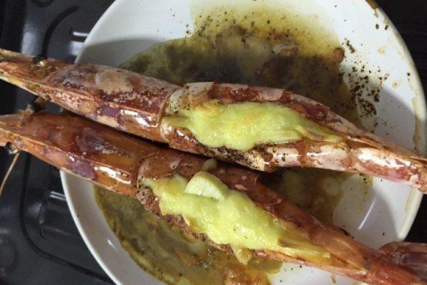 芝士焗对虾的做法