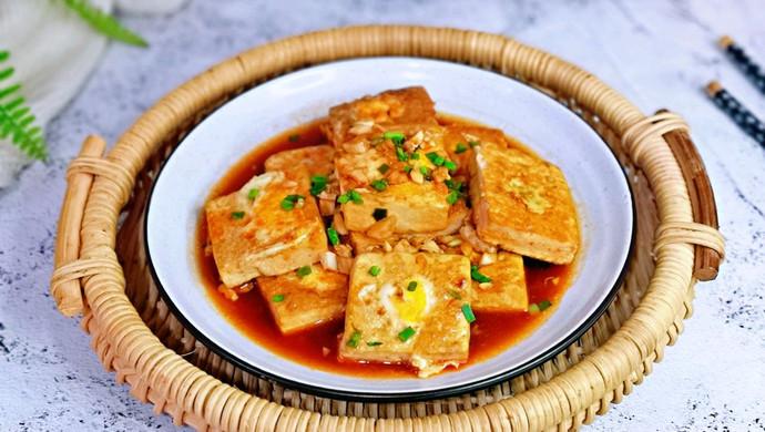 茄汁鹌鹑蛋酿豆腐