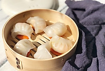 鸡蛋虾饺的做法
