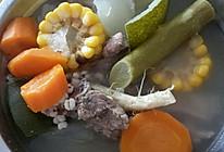 #夏日消暑汤#冬瓜薏米刺苋排骨汤的做法