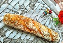 #憋在家里吃什么#长棍老面包的做法