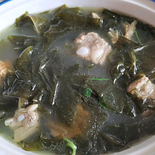 排骨海带汤