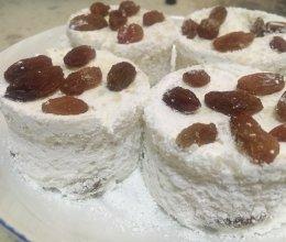 葡萄干蒸钵糕的做法