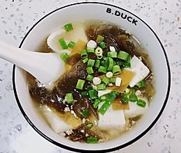 嫩豆腐海带汤(真的很好喝)的做法