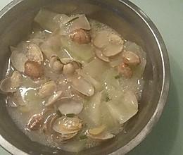 花甲冬瓜汤的做法