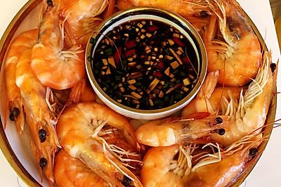 白灼虾这样煮 鲜甜美味又嫩