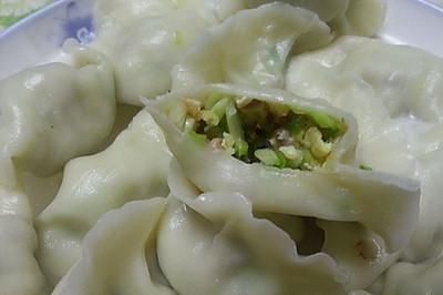 乐乐自家菜--熏肉韭黄饺子