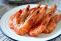 蒜香烤虾的做法