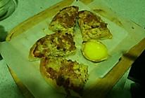 金枪鱼玉米披萨的做法