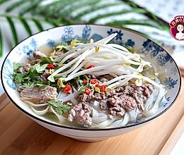 越南牛肉河粉的做法
