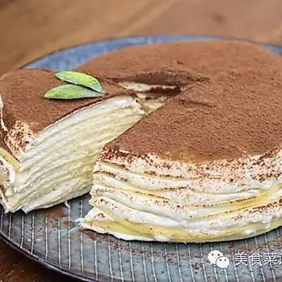 榴莲千层蛋糕,特别的爱给特别的你|没烤箱也要吃甜NO.7