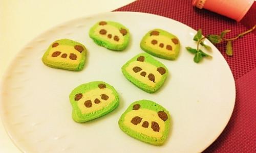 熊猫饼干的做法