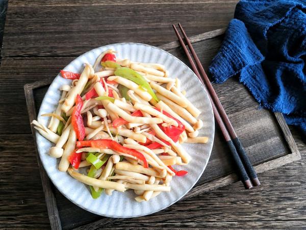 素炒白玉菇的做法