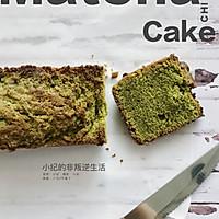 #饭桌的春天限制#春天气息宇治抹茶磅蛋糕的做法流程详解9