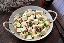 虾米豆腐煲的做法