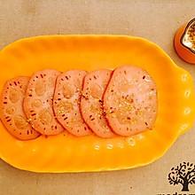 零基础也会做的桂花糯米藕