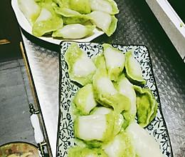 翡翠猪肉芸豆饺子的做法