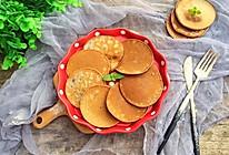 黑全麦松饼#柏翠辅食节-营养佐餐#的做法