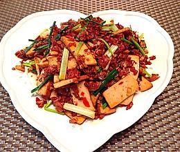 爆炒双干(豆腐干、萝卜干)的做法