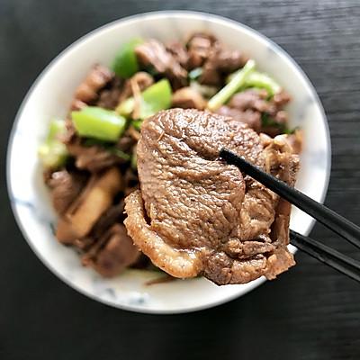 姜葱爆炒白鸭肉