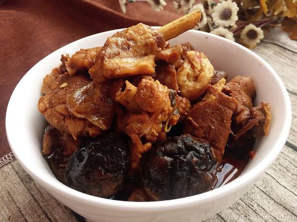 风味香焖鸭肉#胃,我养你啊#的做法