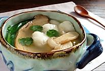 松茸鱼圆汤的做法
