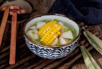 山药玉米扇骨汤的做法