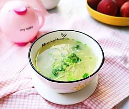 #冰箱剩余食材大改造#土豆丝汤的做法