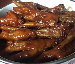 新手小白:卤鸡爪的做法