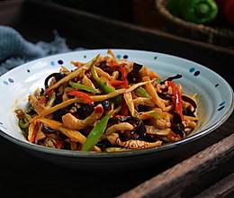 鱼香鸡丝#快手又营养,我家的冬日必备菜品#的做法