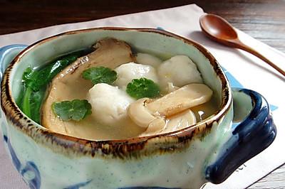 松茸鱼圆汤