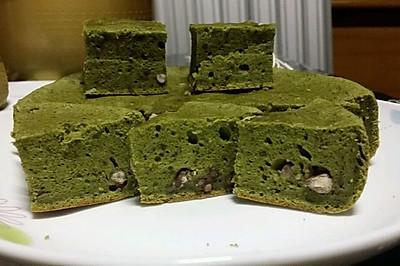 自制电饭锅抹茶蛋糕
