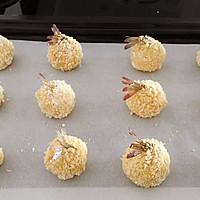 烤箱版一一凤尾虾球的做法图解9