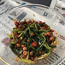 陈醋菠菜花生米