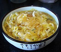 #下饭红烧菜#白菜炖粉条的做法