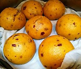 南瓜紅糖饅頭的做法