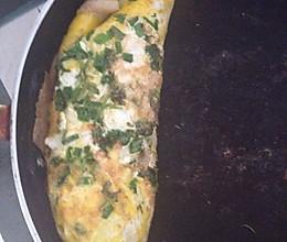 孜然生菜鸡蛋卷的做法