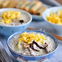#柏翠辅食节-营养佐餐#燕麦鸡蛋瘦肉粥