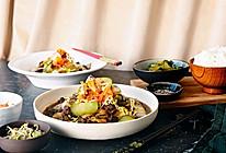 辣白菜炖牛肉的做法
