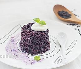 黑米饭的做法