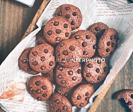 #糖小朵甜蜜控糖秘籍#零卡糖巧克力豆曲奇 免打发的做法