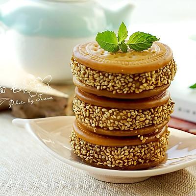 南瓜夹心饼——记忆里的童年美味