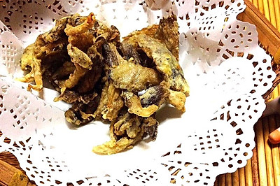 香酥椒盐蘑菇 美味赛炸肉