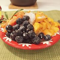 水果蜜豆刨冰